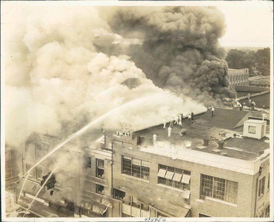 Furniture Company Fire 1939
